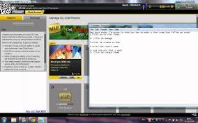 how to create a chat room on imvu