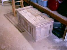 Diy Pallet Storage Box Pallet Chest Pallet Chest Pallet