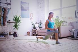 living room yoga nakicphotography
