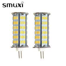 smuxi 3 5w 126 smd 3014 g4 led bulb corn light high brightness led