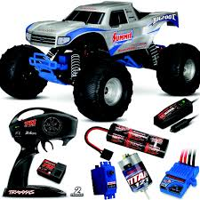 100 Bigfoot Monster Truck Toys Traxxas 110 RTR Silver W24GHz Radio