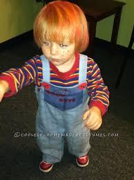 Chucky Halloween Mask by Cool Homemade Chucky Good Guys Doll Costume