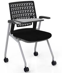 Thesis™ Flex Back Arm Chair With Fabric Seat And Tablet Arm - Set Of 2 -  Black Ofm Moon Foresee Series Tablet Chair With Removable Plastic Seat Cushion Student Desk Black 339tp By Balt 66625 Nesting Education Solutions Mayline Thesis Flex Back Arms Qty 2 Strive Wallsaver Upholstered Loop Stack Folding Gunesting Casters Traing Classroom Chairs Carton Of Staticback Mulgeneration Knoll Stacking Base Ergonomic Side Remploy En10 Skid Pretty Office Zen Supplier Line