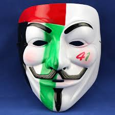 The Purge Masks For Halloween by Guy Fawkes V Vendetta Team Pink Blood Scar Masquerade Masks
