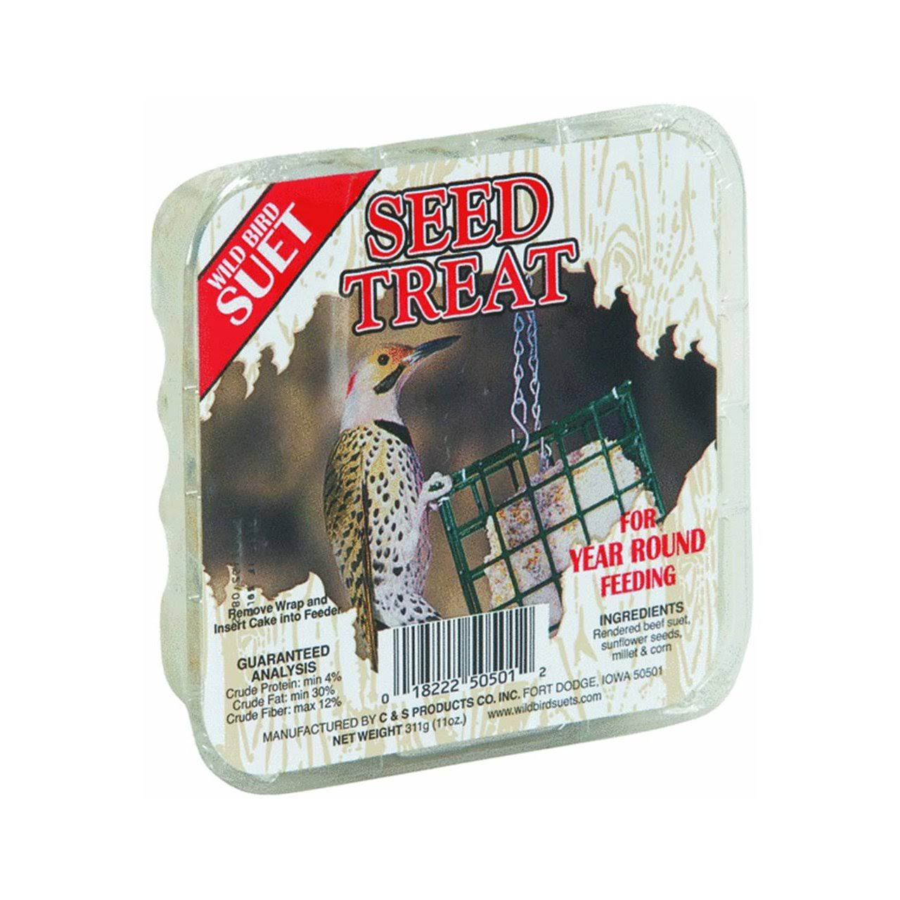 Seed Treat Wild Bird Suet Cakes