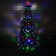 4ft Christmas Tree With Lights by Led Fibre Optic Christmas Tree Pre Lit Xmas Tree 2ft 3ft 3ft