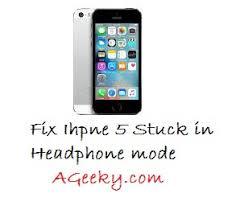 iPhone 5 stuck in Headphone Mode fix