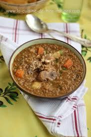 cuisine lentille 3dess soupe de lentilles à l algérienne la cuisine de mes racines