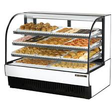 TCGD 59 True Dry Curved Glass Bakery Display Case