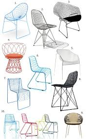 Wire Dining Room Chairs
