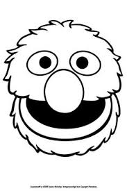 Super Grover The Superhero Of Sesame Street Coloring Page