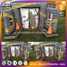 Halloween Inflatable Spider Archway by Inflatable Halloween Cemetery Inflatable Halloween Cemetery