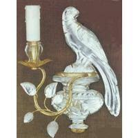 bagues single light wall sconce bird iron and b103 from