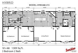 1997 16x80 Mobile Home Floor Plans by Sunshine Homes