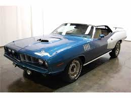 Classic Plymouth Barracuda For Sale On ClassicCars.com