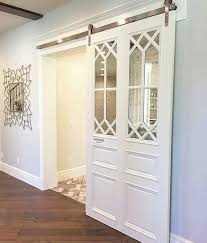 Barn Door Ideas. White Barn Door. Barn Door With Glass Inlay By ... White Barn Door Track Ideal Ideas All Design Best 25 Sliding Barn Doors Ideas On Pinterest 20 Diy Tutorials Jeff Lewis 36 In X 84 Gray Geese Craftsman Privacy 3lite Ana Door Closet Projects Sliding Barn Door With Glass Inlay By Vintage The Strength Of Hdware Dogberry Collections Zoltus Space Saving And Creative