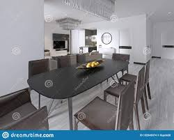 Contemporary Dining Room With A Large Rectangular Dining ... Modern Farm Wood Ding Table Chairs Bench Fniture Hyland Rectangular With 4 Tag Archived Of Room And Set Contemporary Casual Dark Bronze Finish 5 Piece By Coaster 100033 Marble Shine 10 Seater My Aashis Free Sample With Compact Use For Small Kitchen Buy Benchmodern Tableding Style Stylish And Modern Ding Room Interior Design Sharing Table Amazoncom Gtu 7piece Champagne Display Home Interior Design Singapore Ideas