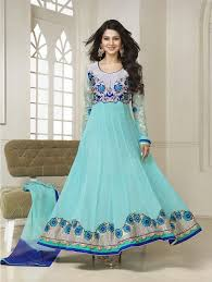 Fancy Indian Asian Anarkali Umbrella Frocks