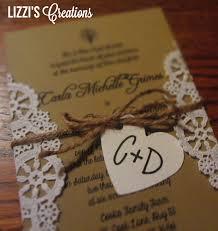 Diy Rustic Wedding Invitations Templates