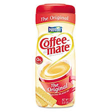 Coffee Mate ORIGINAL POWDERED CREAMER 22OZ CANISTER Case Of 6