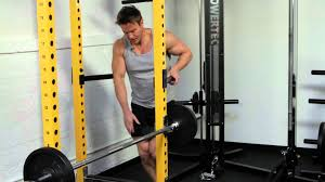 Tricep Workout with Rob Riches on Powertec Power Rack and