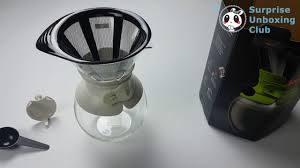 How To Brew Coffee With Bodum Pour Over Maker DIY