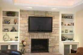 fireplaces with bookshelves traditional living room chicago
