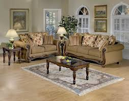 Broyhill Laramie Sofa And Loveseat by Macy Chestnut Wood Apron Sofa And Loveseat By Serta Upholstery