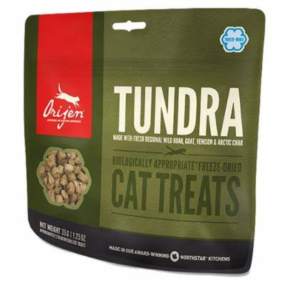 ORIJEN Freeze Dried Tundra Cat Treats 1.25 oz