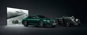 100 Bentleys On 27 The Sporting Pedigree 19192019 Bentley Motors Celebrate