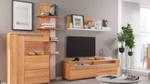 interliving wohnzimmer serie 2006 rückwandpaneel 131 836 kernbuche weiß fünf böden