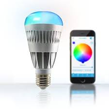 smart bluetooth rgb color changing led light bulb app controlled