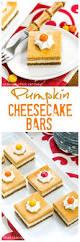 Pumpkin Layer Cheesecake by Pumpkin Cheesecake Bars Pumpkinweek