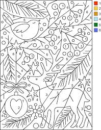Nicoles Free Coloring Pages COLOR BY NUMBER