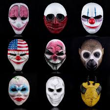 Payday 2 Halloween Masks by Masks Animal Masks Collector U0027s Edition Resin Halloween Supplies