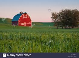 Red Barn With