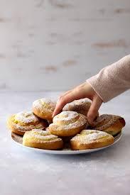 puddingschnecken mit einem hefeteig ohne ei