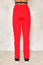 both sides now tear away jogger pants shop clothes at nasty gal