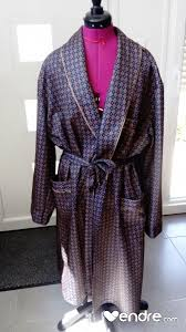 robe de chambre anglais robe de chambre peignoir homme classe style anglais chic vendre com
