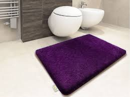 Bathroom Rug Design Ideas by Dark Purple Bath Rugs Rug Designs