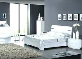 chambre gris noir et blanc chambre a coucher grise chambre gris noir decoration chambre gris