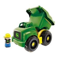 100 John Deere Toy Trucks Mega Bloks Large Vehicle Dump Truck With 1Block Buddy
