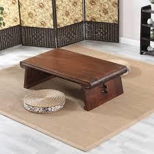 holz asiatische japanischen chinesische niedrigen tisch rechteck wohnzimmer möbel tisch für kaffee antike gongfu holz tisch