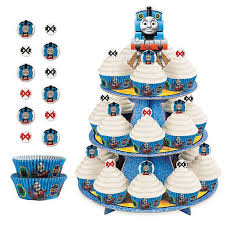 Alvin And The Chipmunks Cake Decorations by Thomas The Tank Engine Cupcake Kit For 24 Pc00433 Fisher Price