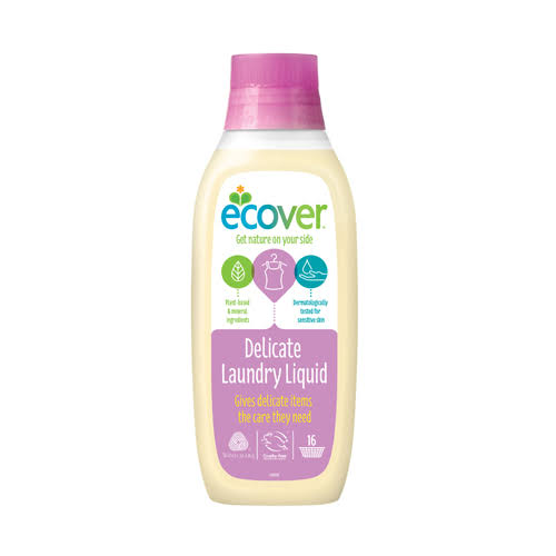 Ecover Delicate Laundry Liquid - Waterlily & Honeydew, 16 Washes, 750ml