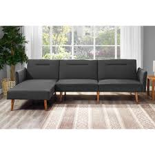 Wayfair Modern Sectional Sofa by Sven Intuition Gray Left Sectional Sofa Sectionals Article Mid