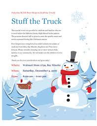 Event - Help BCHS Peer Helpers Stuff The Truck!
