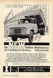 1962 International Trucks 50 Years Golden Anniversary Aussie ... Truck Offhighway Eeering Tech Briefs Media Group Diamond T Truck Advert Life Magazine 1937 I See American People News Magazine Covers Trucks Guns Decked Install Ij 119 Intertional Ad March Etsy 1961 Ford F100 Unibody Street Cover Luke Parts Accsories Custom Tesla Semi Watch The Electric Burn Rubber Car Rokold Daf 2800 Classic And Fridge Combination Of Flickr Dfw Scene Home Facebook Digital Diuntmagscom