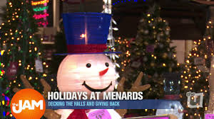 Menards Christmas Trees White by Make Holiday Memories With Menards Youtube