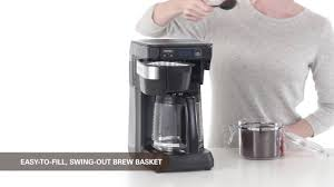 Cuisinart Coffee Maker Bed Bath Beyond by 46300c Hamilton Beach Coffee Maker Youtube